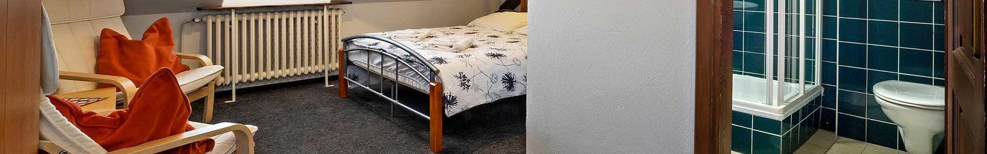 Pension Landauer nabízí ubytování v centru města Český Krumlov